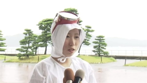ミキモト真珠島で新人海女さんデビュー