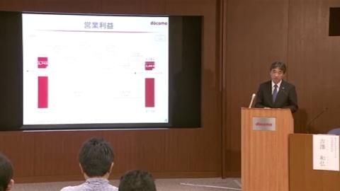 NTTドコモ、4−6月期は7%営業減益