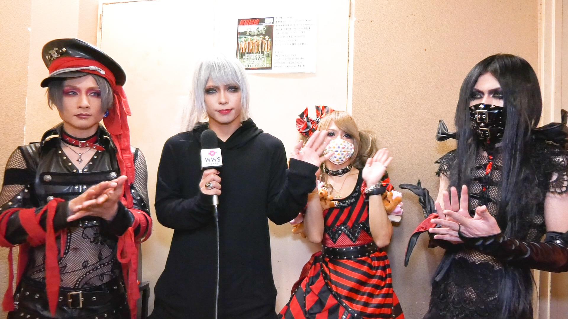 ヴィジュアル系バンド MORRIGANにインタビュー! VisUnite アプリランキング1位を獲得!