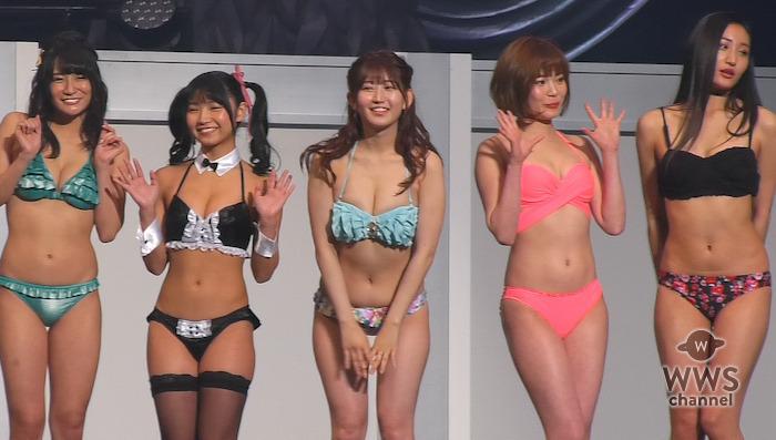 G☆GirlsのKagami、星乃まおりら美女軍団がセクシーな水着姿でランウェイに登場!グラビアランウェイPart.1 <第12回東京ボーイズコレクション>