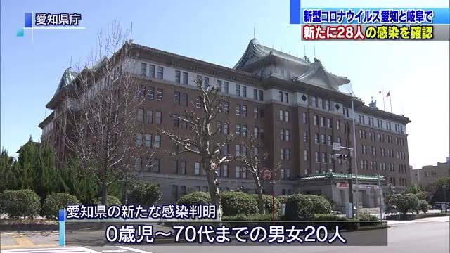 愛知と岐阜で新たに28人が新型コロナウイルスに感染 ナイトクラブのクラスター関連も